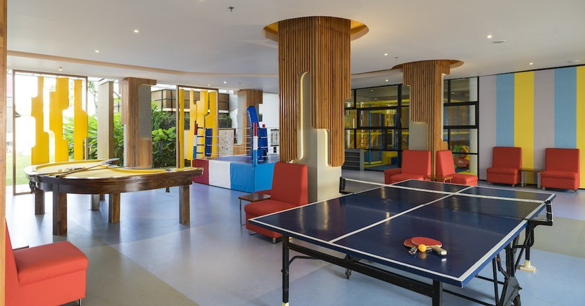 Kids Club at Grand Mirage Resort & Thalasso Bali | Courtesy of Samabe Leisure