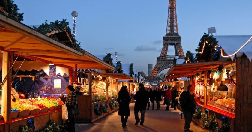 Paris Christmas market |© Wikimedia Commons