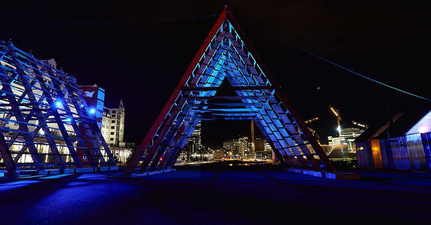 The SALT pyramid in Oslo |© Baard Henriksen, Courtesy of SALT