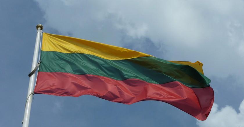 Lithuanian flag  ©Anemone Nemorosa/Flickr