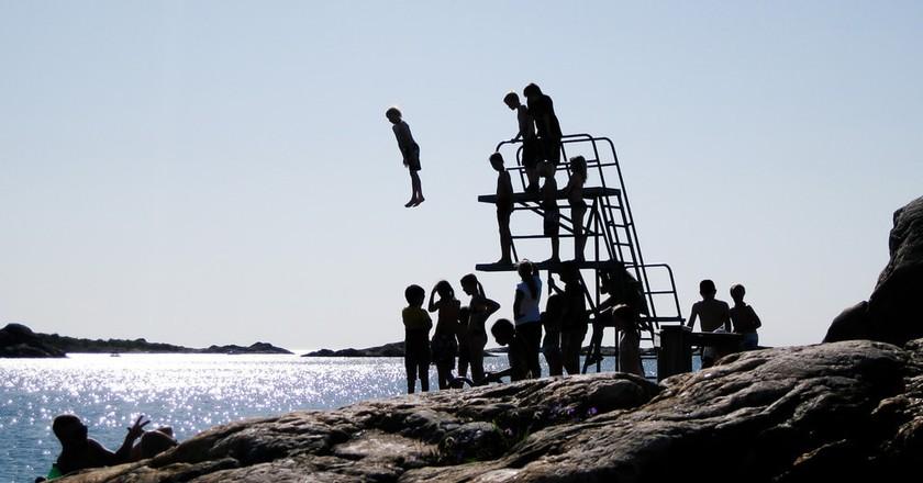 Diving tower outside Gothenburg   © Martin Jakobsson / imagebank.sweden.se