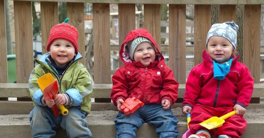 Taking time off work to raise children is not uncommon in Sweden   © Martin Svalander/imagebank.sweden.se