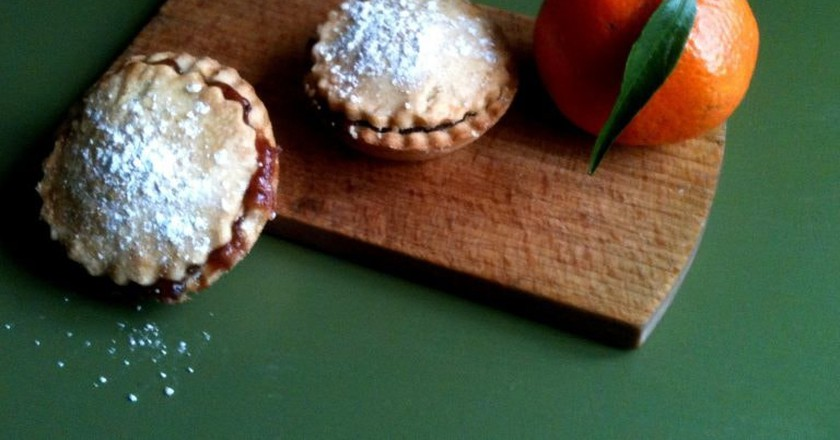 Mince pies and sweet treats   © Neil Cummings / Flickr