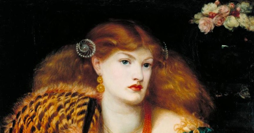 Monna Vanna 1866 Dante Gabriel Rossetti 1828-1882 Purchased with assistance from Sir Arthur Du Cros Bt and Sir Otto Beit KCMG through the Art Fund 1916