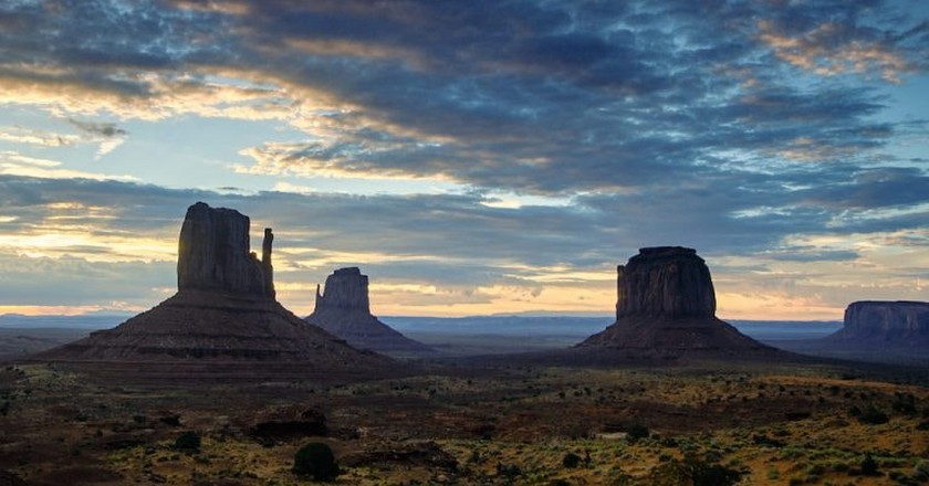 Monument Valley|©Pedro Szekely/Flickr