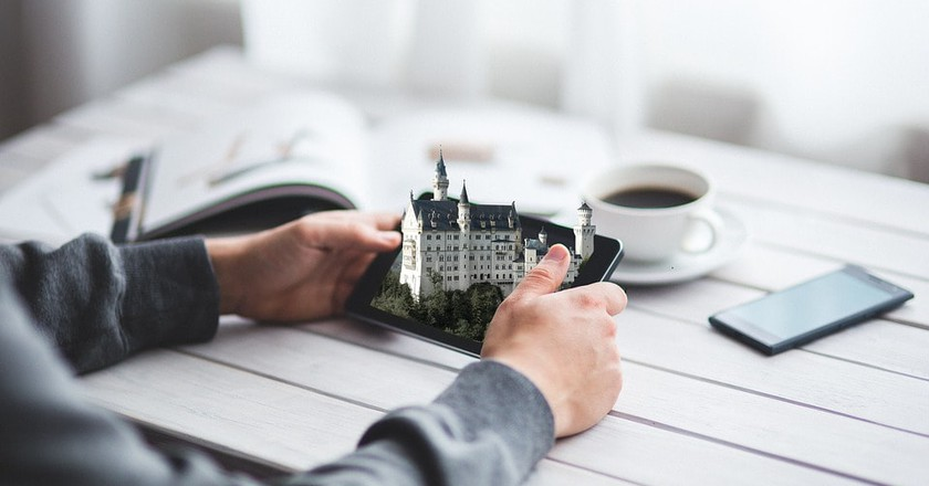Digital Neuschwanstein Castle, Germany | © FunkyFocus / Pixabay