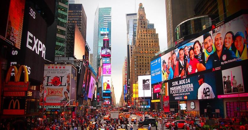 Times Square, NYC   © ahundt / Pixabay