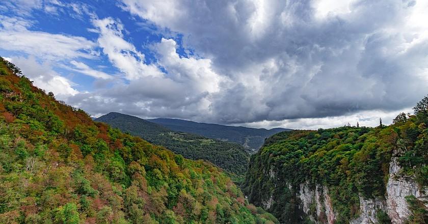 Okatse Canyon | © Stratovara / WikiCommons
