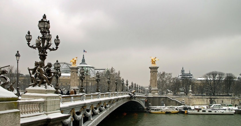 Paris in winter | Pixbabay