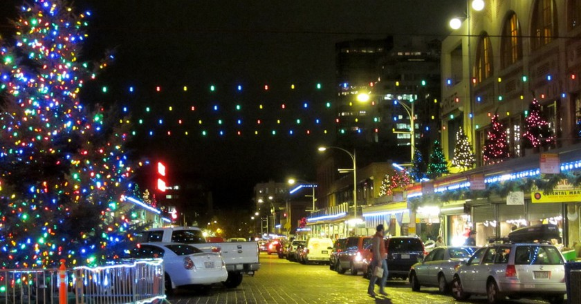 Pike Place Market Christmas Tree | © Upupa4me / Flickr