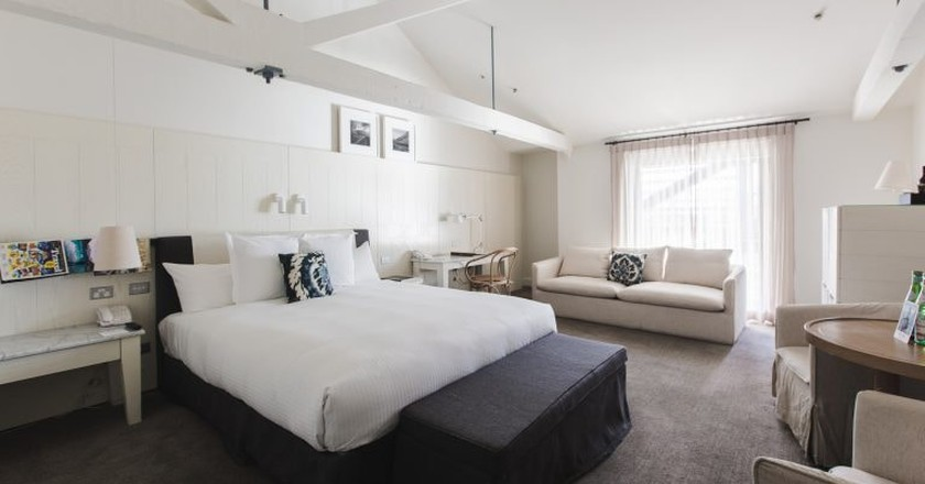 Bedroom Interior | Courtesy of Pier One Sydney Harbour