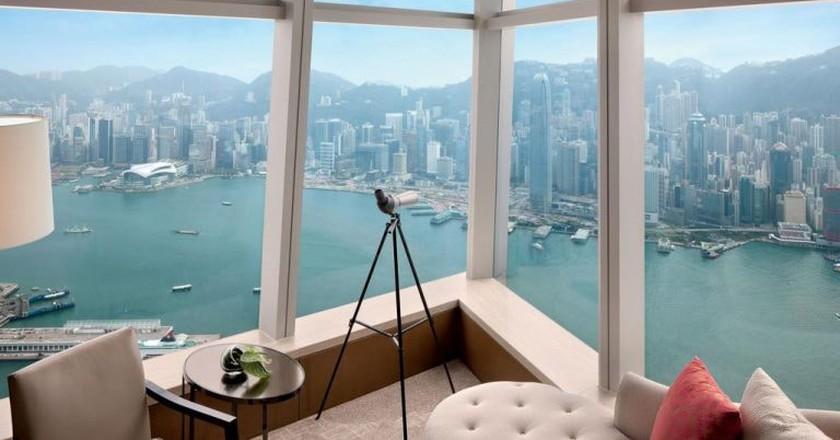 Spectacular views come at a high price | Courtesy of Ritz-Carlton Hong Kong