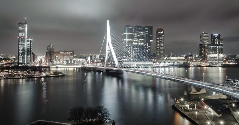 Rotterdam at night | © pixabay