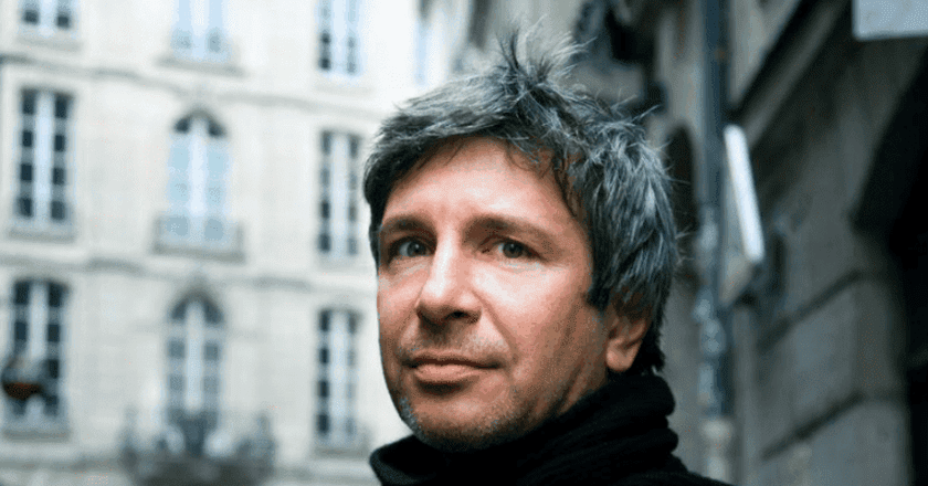 Éric Vuillard, courtesy of Babelio / Pushkin Press