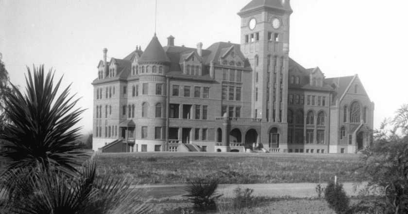 California State Reform School at Whittier, ca.1901   © The California State Historical Society / Wikimedia Commons