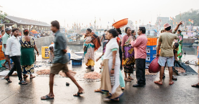 Sassoon Docks: Bustling Local Life in One Of Mumbai's Oldest Fishing Villages