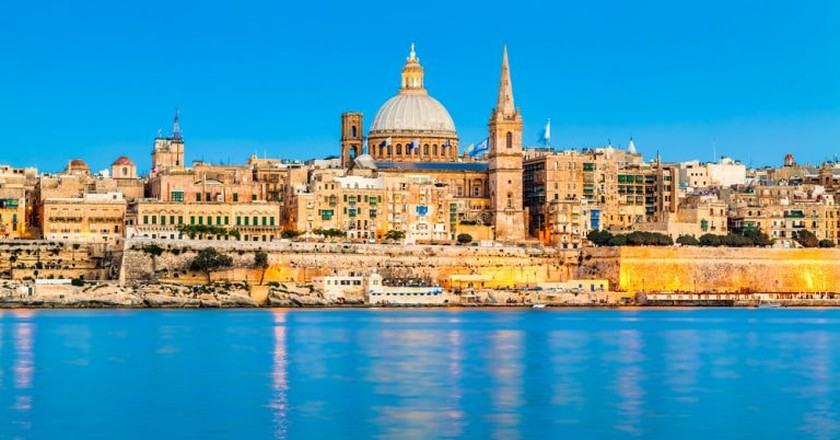 Valletta, Malta, where renting through Airbnb is much cheaper than staying in a comparable hotel