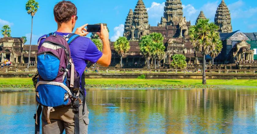 Tourist in Cambodia   © Anna Jedynak/ Shutterstock.com