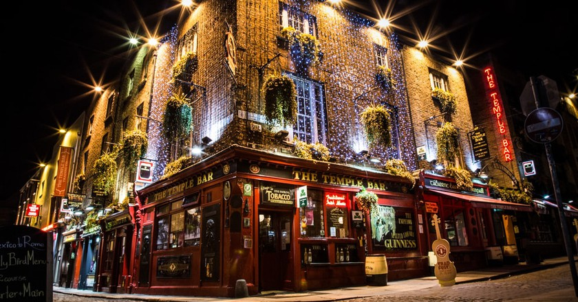 The Temple Bar, Dublin | © Marc Lechanteur/Shutterstock