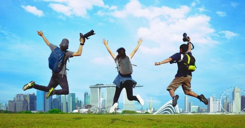 Hello Singapore!   © Patrick Foto / Shutterstock