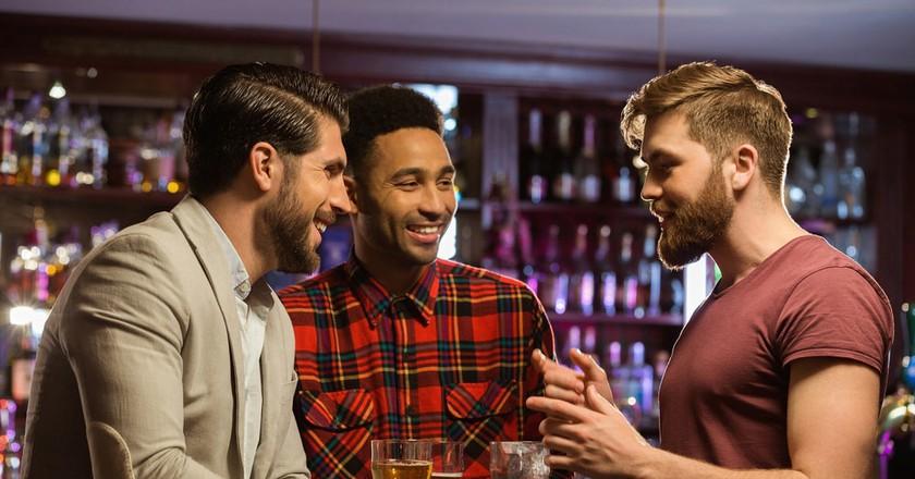 The Irish enjoy talking. A lot.   © By Dean Drobo/Shutterstock