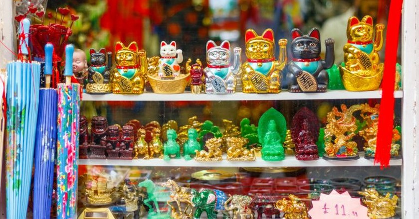 Japanese lucky charms © Wei Huang / Shutterstock