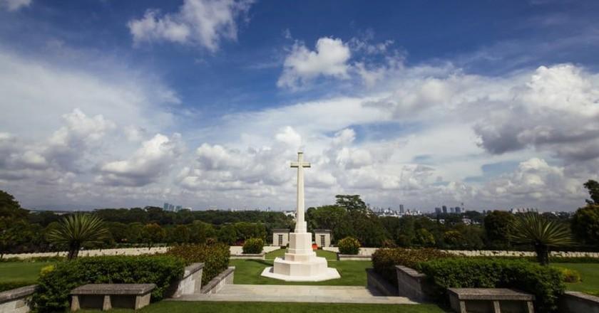 The Kranji War Memorial in Singapore