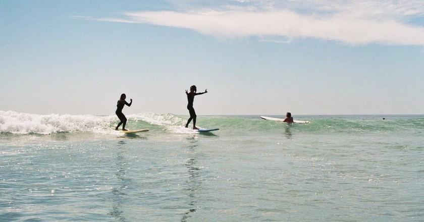 Surfers | Courtesy of Amayour Surf