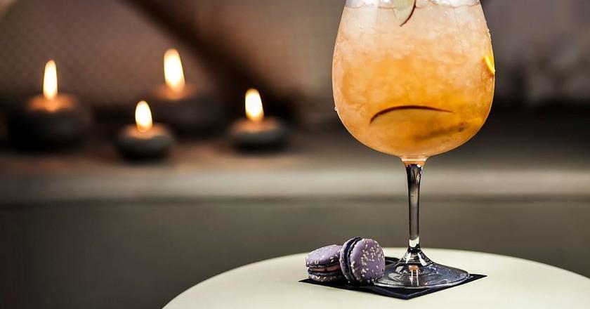 Cocktail at SO Lounge Rabat | Courtesy of Hotel Sofitel Rabat