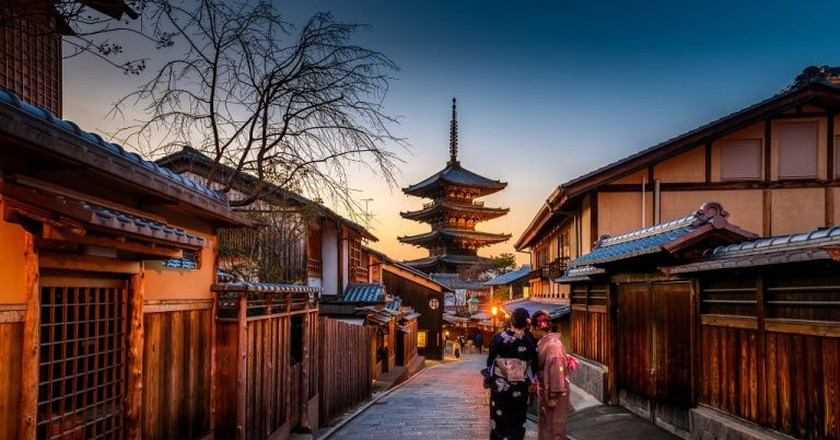 Japan's cultural capital, Kyoto   © Sorasak / Unsplash