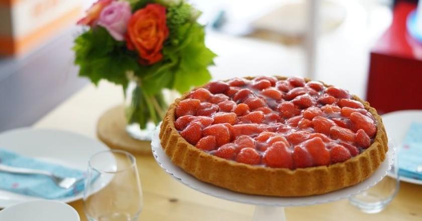 Strawberry tart | © Kalorienpalast / Pixabay