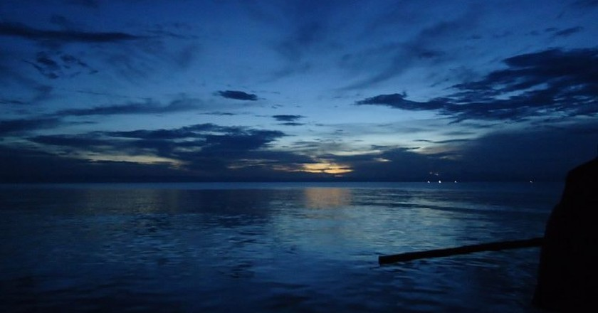 Sunset on Lake Tanganyika   © Felix Dance/WikiCommons