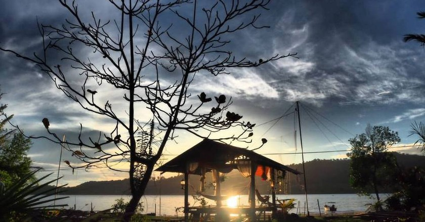 Sunset view at Barkat Chalet © Barkat Chalet