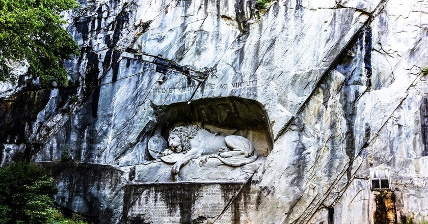 The Lion of Lucerne | © pkh470 / Pixabay