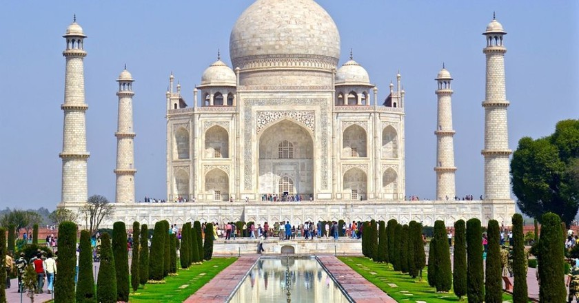 Taj Mahal, Agra   © wiganparky0 / pixabay