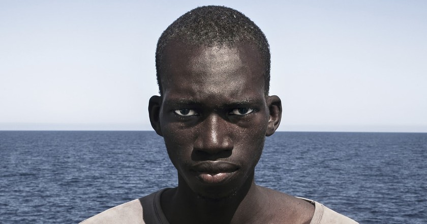 César Dezfuli, Amadou Sumaila, 2016 | © César Dezfuli