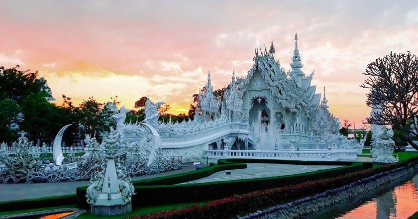 Wot Rong Khun   ©itanapunyo/Pixabay