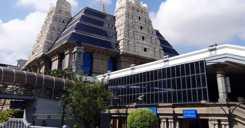 The ISKCON temple in Bangalore is a popular tourist attraction   © sarangib / pixabay