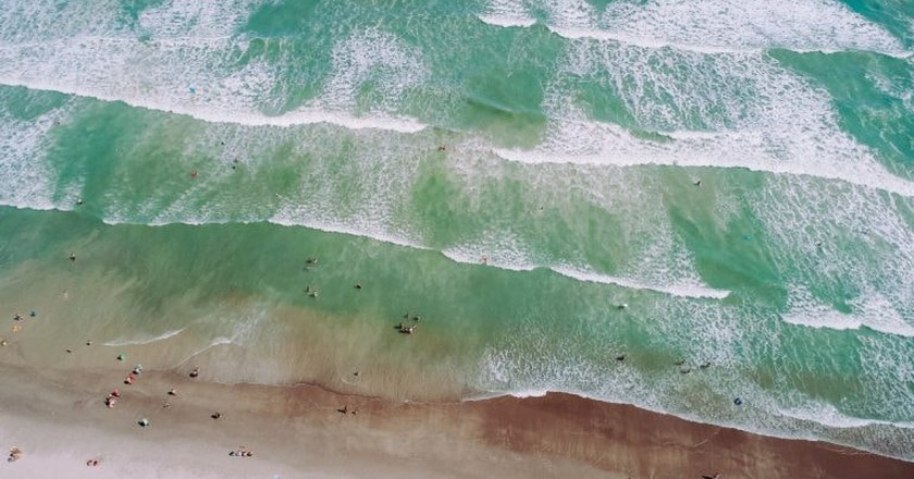 The beach from above | © pxhere