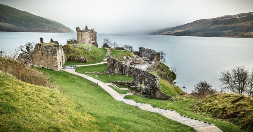 Urquhart Castle, Loch Ness, Inverness, Scotland, United Kingdom   © Giuseppe Milo/Flickr