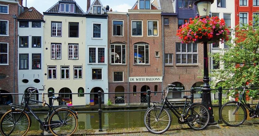 a typical street in Utrecht | © pixabay