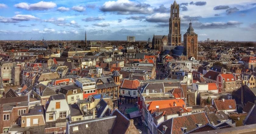 Blue skies over Utrecht | © pixabay