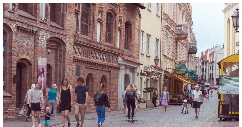 Vilnius street  ©Göran Höglund (Kartläsarn)/Flickr