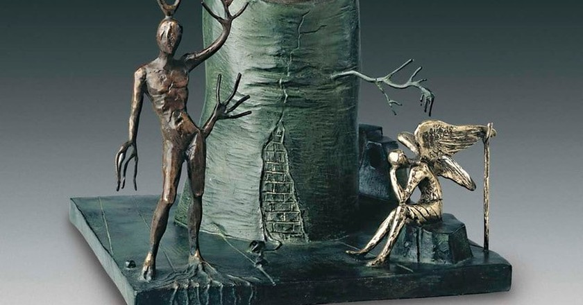 Salvador Dalí, Vision of the Angel (detail) 1977-1984 | © IAR Art Resources