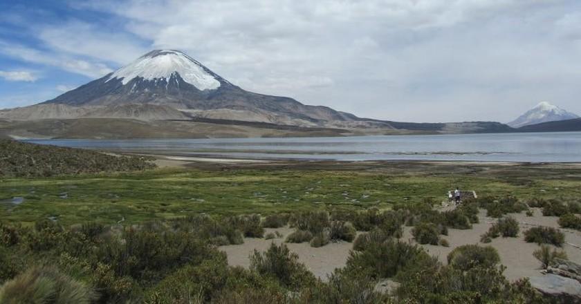 Parinacota Volcano | © Backpackerin / Pixabay
