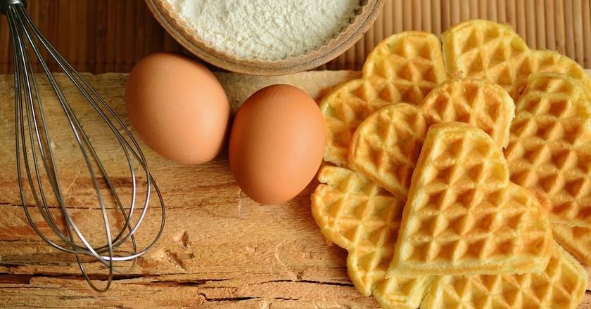 Waffles. conderdesign (c) Pixabay