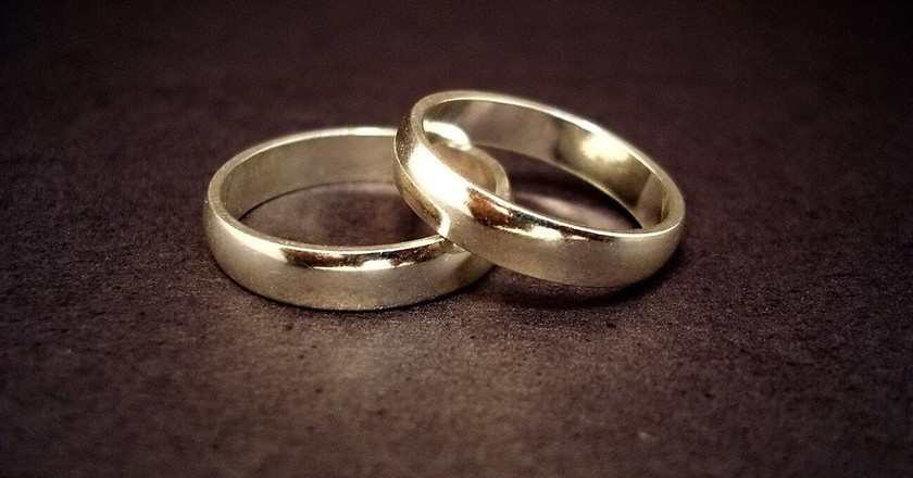 Forever in marriage   via Wikimedia Creative Commons