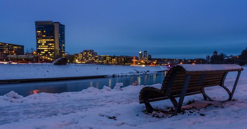 Winter in Vilnius| ©Mantas Volungevicius/Flickr