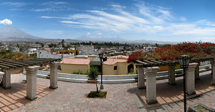 Skyline of Arequipa | © Filipe Fortes/Flickr