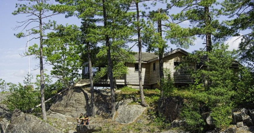 Cottage by French River | © OTMPC